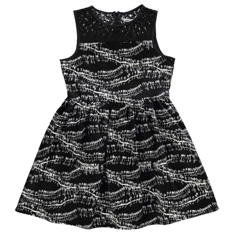 Šaty French Connection Rap Rock Dress Black