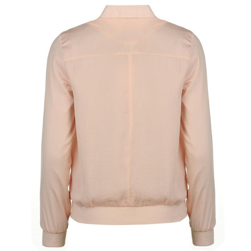 Bunda Golddigga Lightweight Bomber Jacket Ladies Blush, Velikost: 16 (XL)