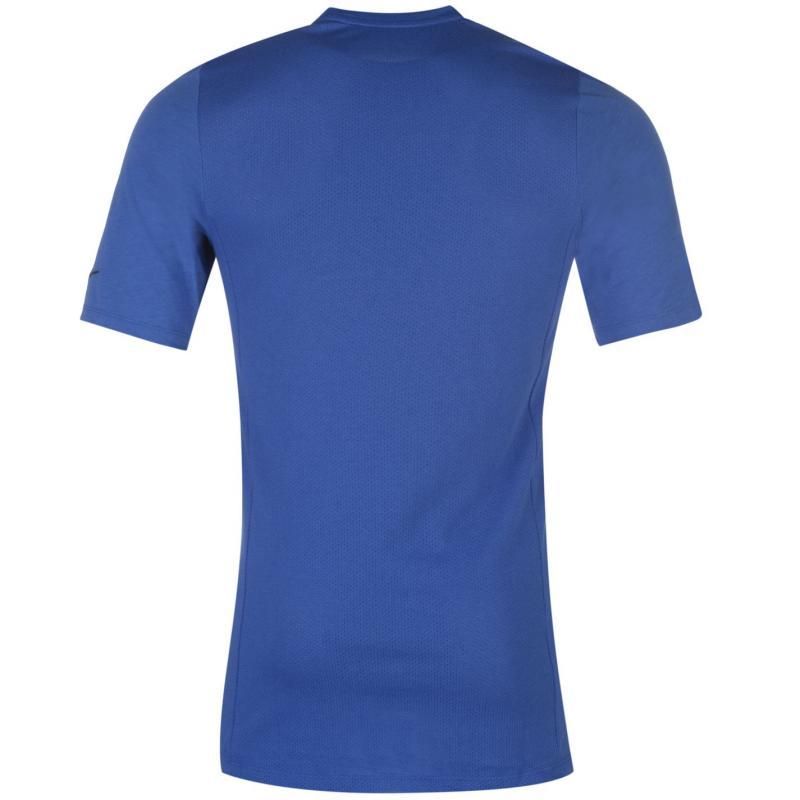 Tričko Nike Breathe Elite T Shirt Mens Red, Velikost: S