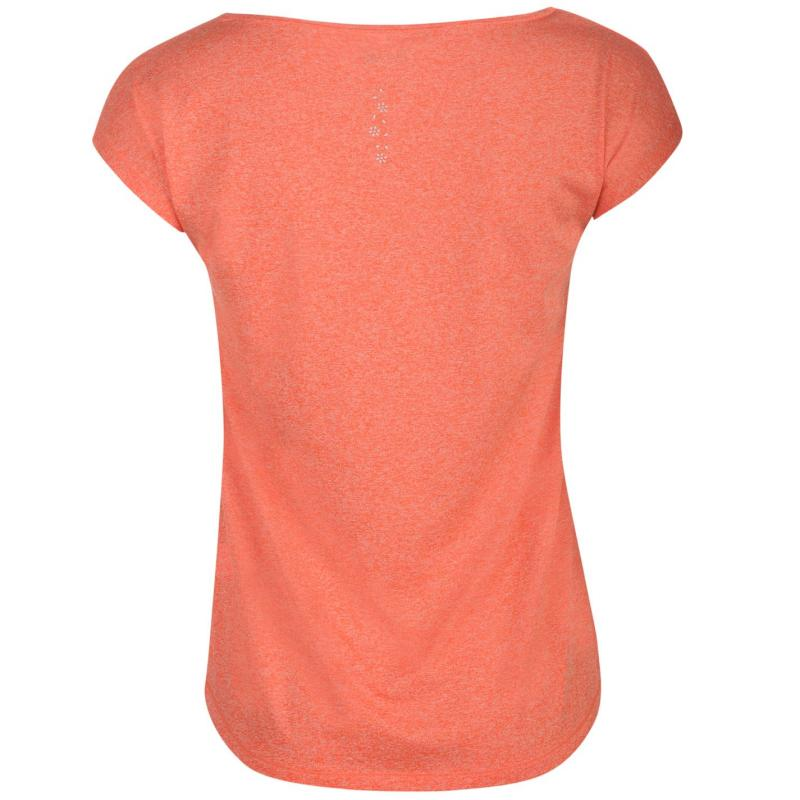 USA Pro Boyfriend T Shirt Coral Red
