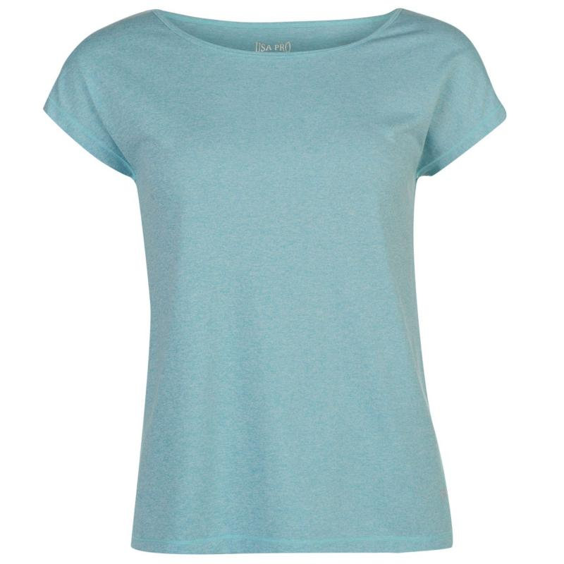 USA Pro Boyfriend T Shirt Mint Marl