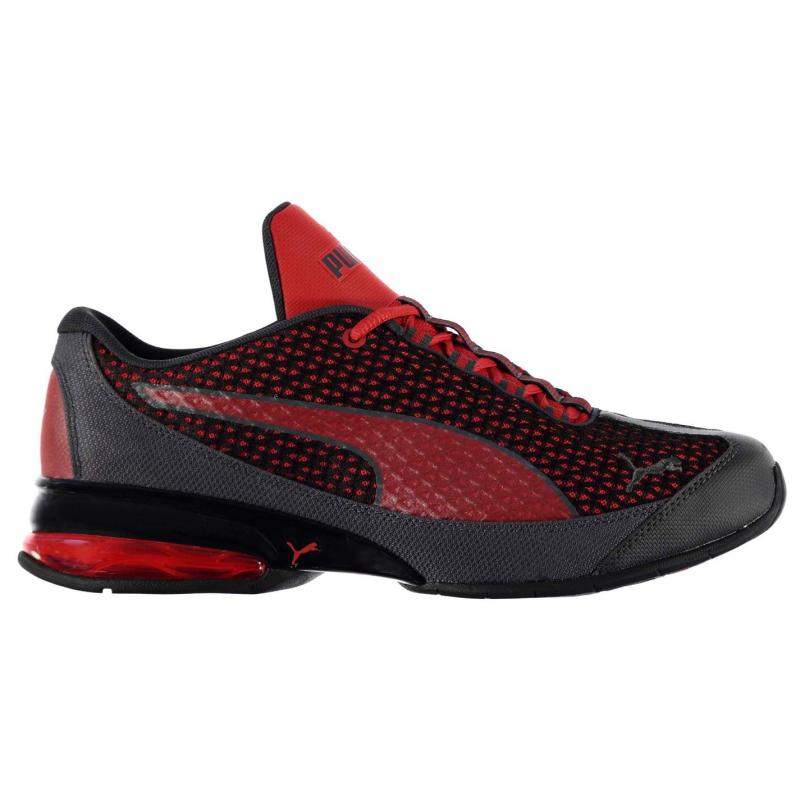 Puma Reverb Cross Running Shoes Mens Red/Grey
