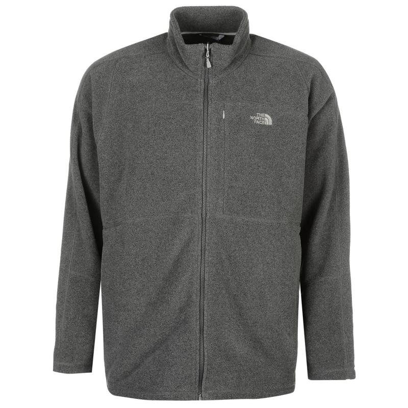 The North Face Shadow Full Zip Fleece Jacket Mens Grey, Velikost: XXL