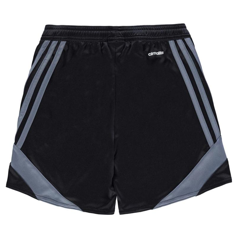 Kraťasy adidas 3 Stripe Nova Shorts Junior Boys Black/Onix