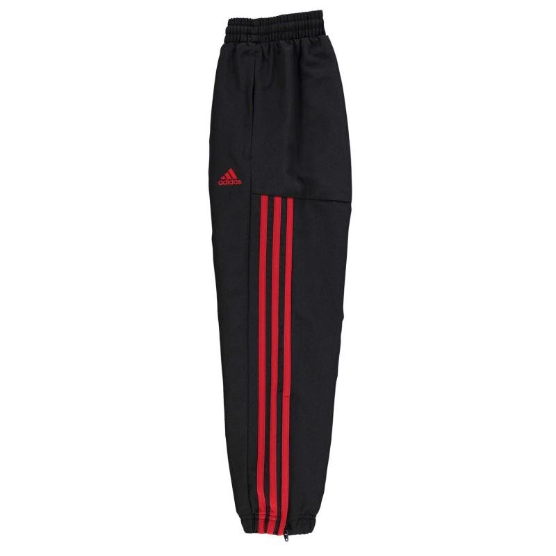 Tepláky adidas Samson 2 Tracksuit Bottoms Junior Boys Blue/White