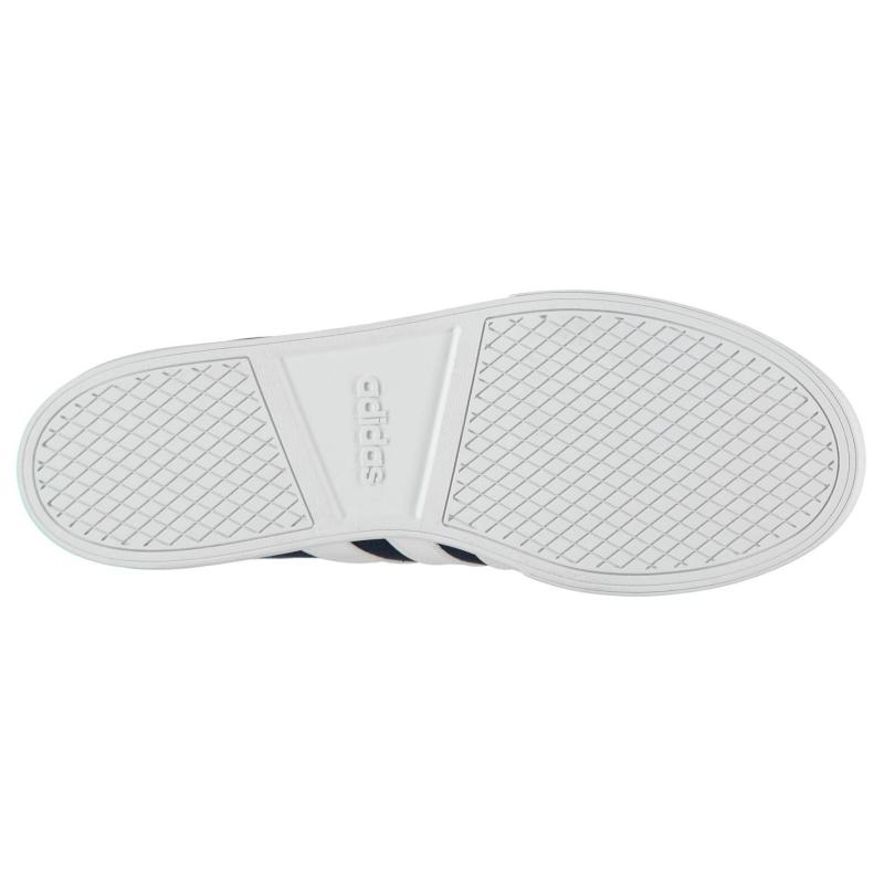 Boty adidas VS Set Mens Canvas Trainers Navy/White, Velikost: UK9 (euro 43)