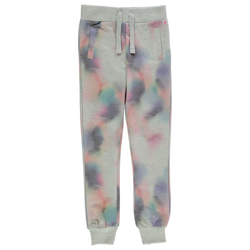 French Connection Faded Print Jogging Bottoms Oatmeal Marl