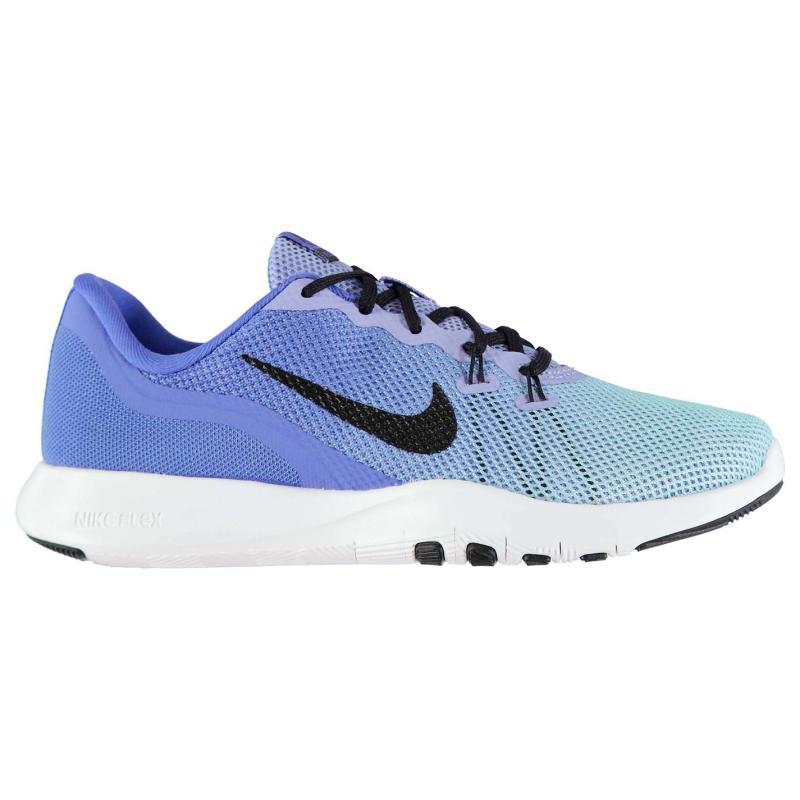 Boty Nike Flex TR7 Training Shoes Ladies Blue/Black, Velikost: UK6 (euro 39)