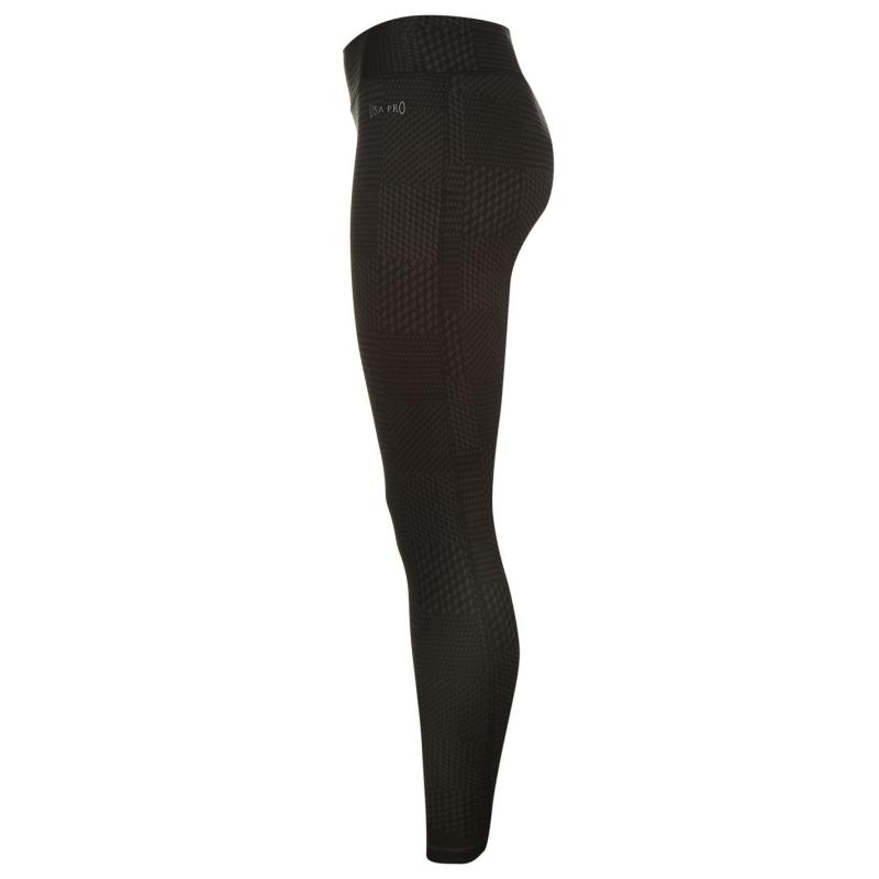 Legíny USA Pro Tights Ladies Houndstooth
