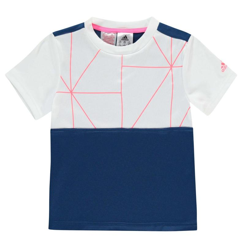 Tričko adidas B Club Tennis T Shirt Junior Boys White/Red