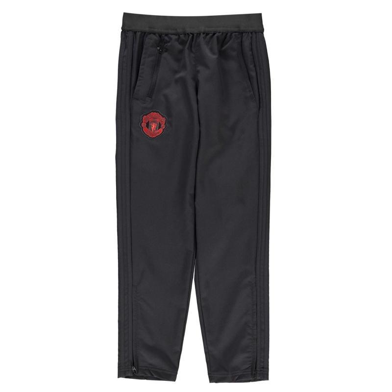 Tepláky adidas Manchester United FC Pre Match Pants Junior Boys Black/Red