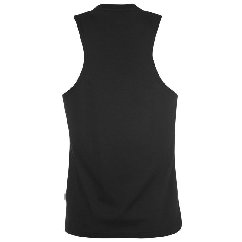 Tílko Lonsdale Muscle Vest Mens Grey Marl