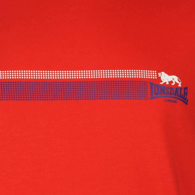 Tílko Lonsdale Sleeveless T Shirt Mens Red