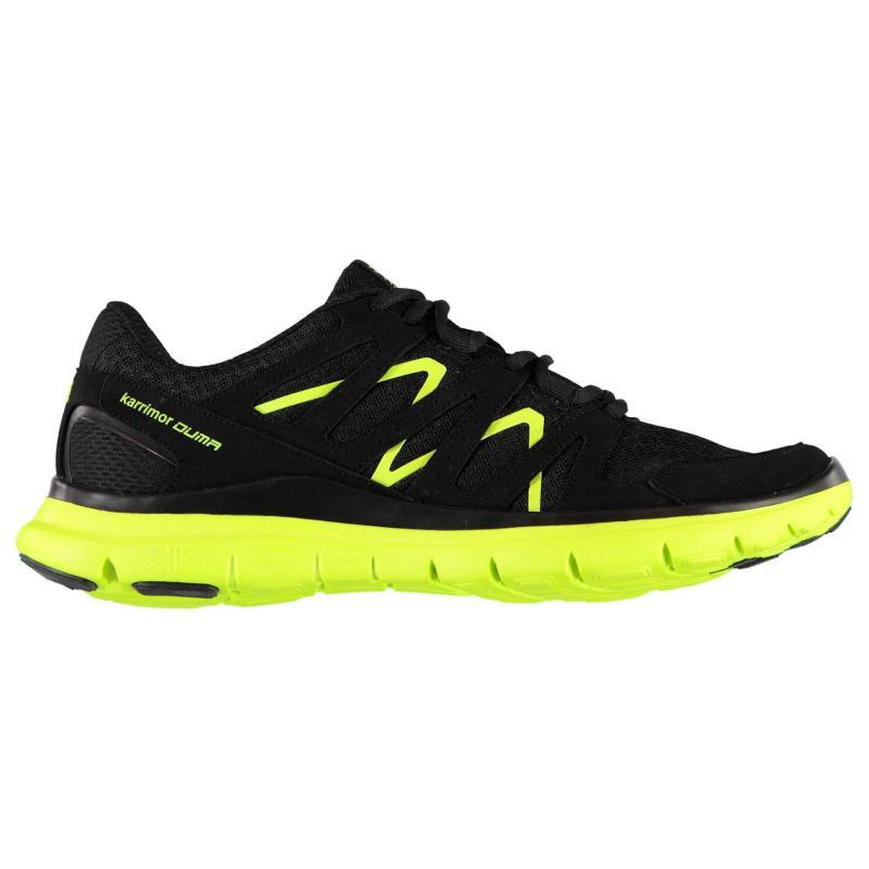 Boty Karrimor Duma Junior Boys Running Shoes Black/Fluo