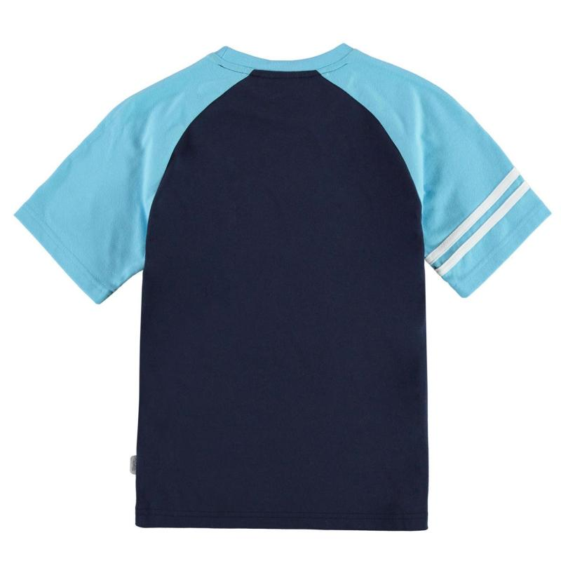 Tričko Lonsdale Large Logo Raglan T Shirt Junior Boys Navy