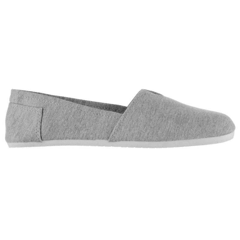 Miss Fiori Ladies Sams Canvas Shoes Denim