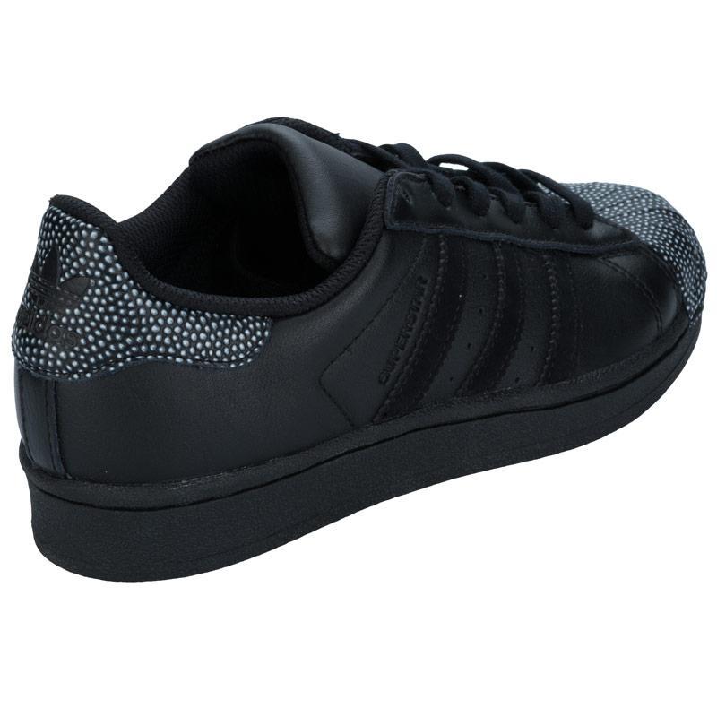 Boty Adidas Originals Junior Boys Superstar Ray Trainers Black, Velikost: UK5 (euro 38)