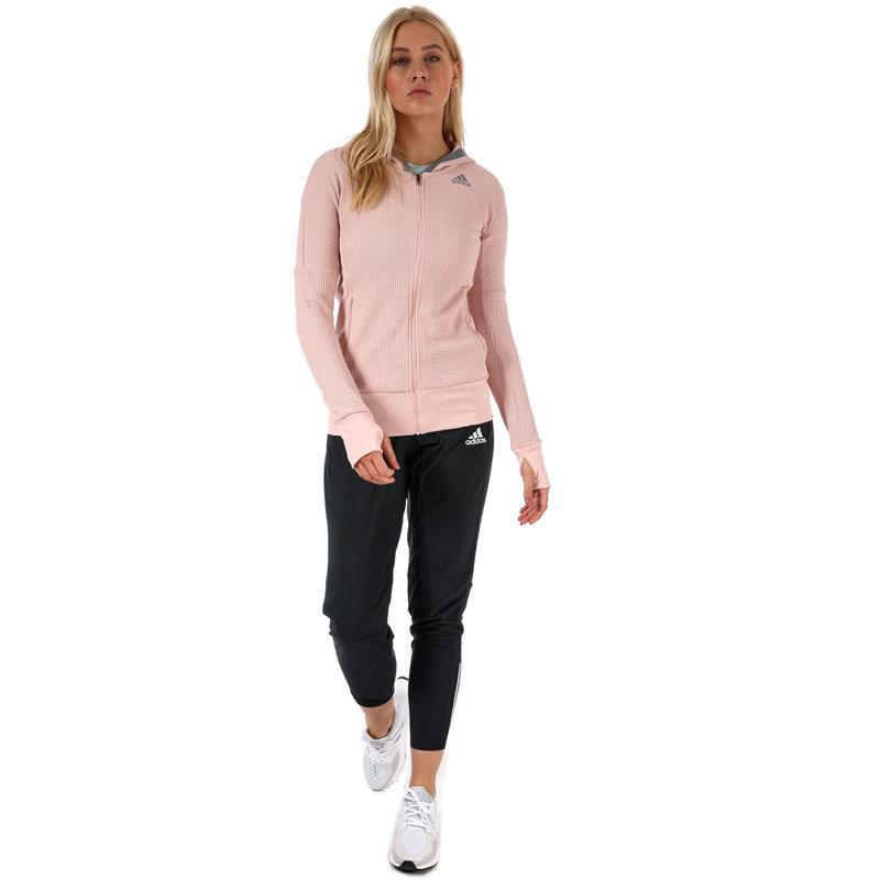 Mikina s kapucí Adidas Womens City Energy Hoody Pink