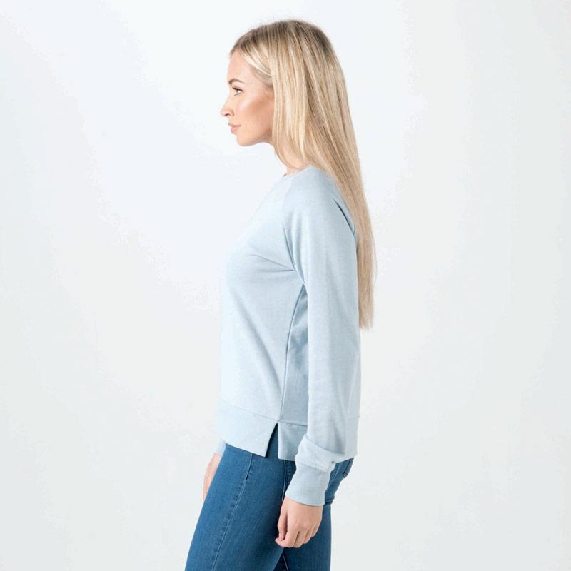 Mikina Only Womens Lotus Marl Sweatshirt Blue
