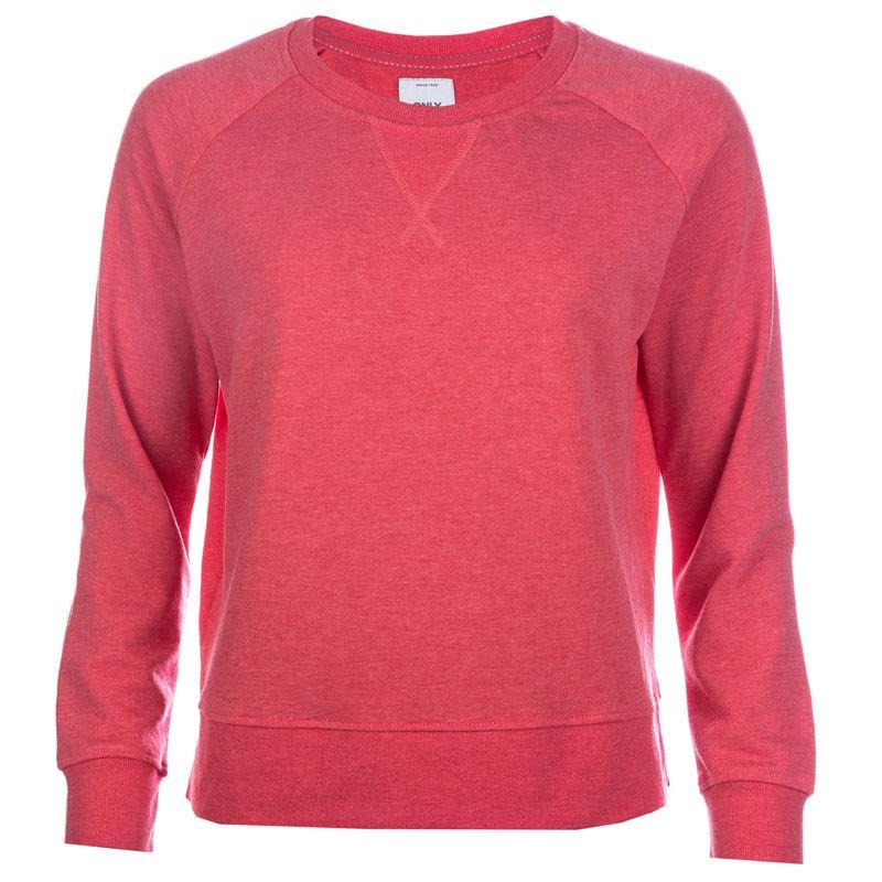Mikina Only Womens Lotus Marl Sweatshirt Oatmeal