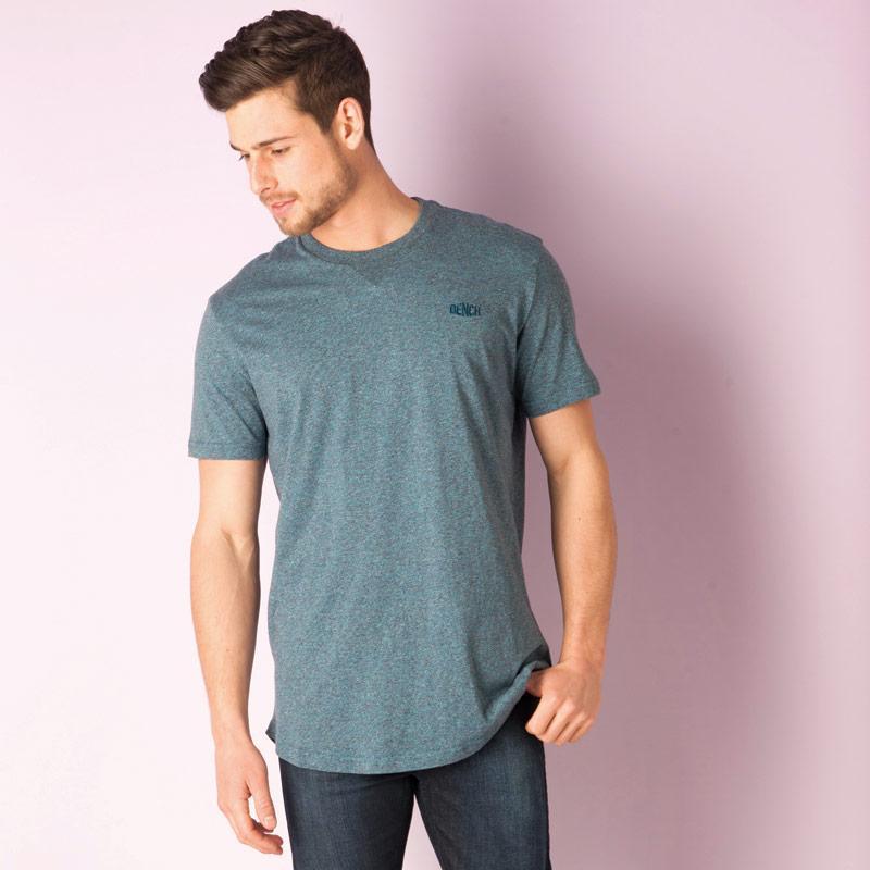 Tričko Bench Mens Hermit T-Shirt Blue