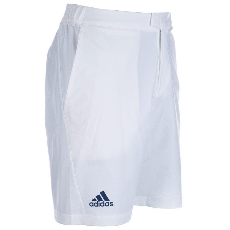 Kraťasy Adidas Mens Barricade Bermuda Shorts White, Velikost: S