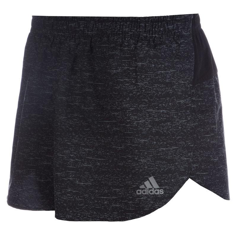 Kraťasy Adidas Mens Supernova Split Shorts Black, Velikost: S