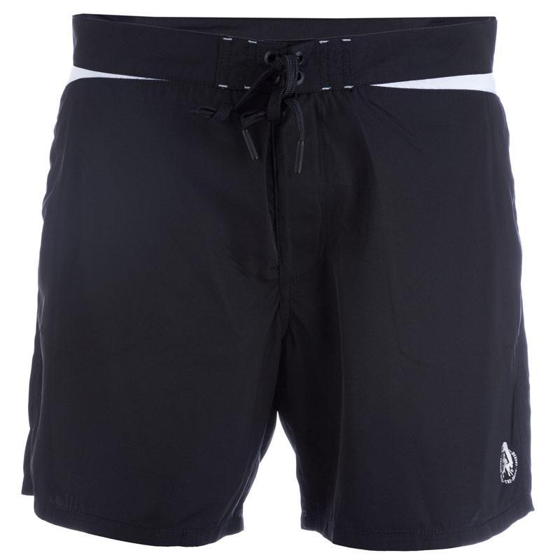 Kraťasy Diesel Mens Wave-V-F Swim Shorts Black