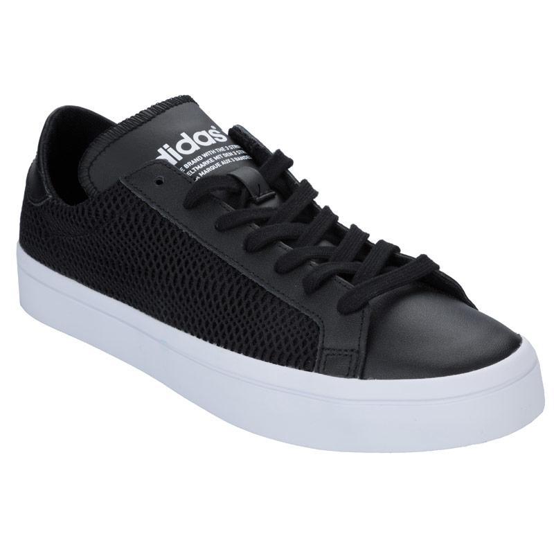 Boty Adidas Originals Womens Court Vantage Trainers Black, Velikost: UK6 (euro 39)