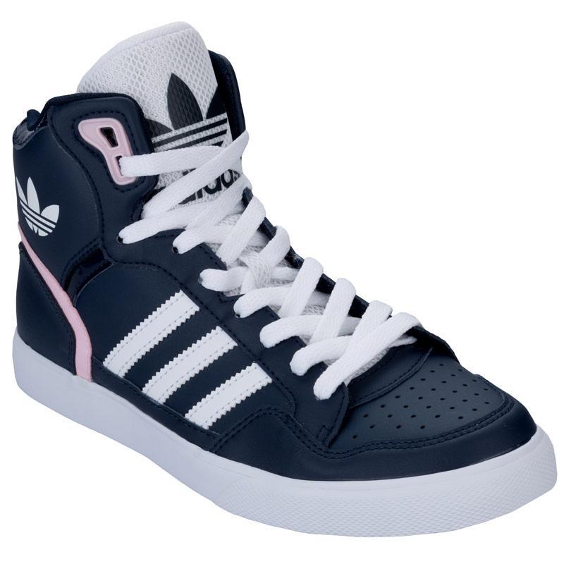 Boty Adidas Originals Womens Extaball Trainers Navy, Velikost: UK4 (euro 37)