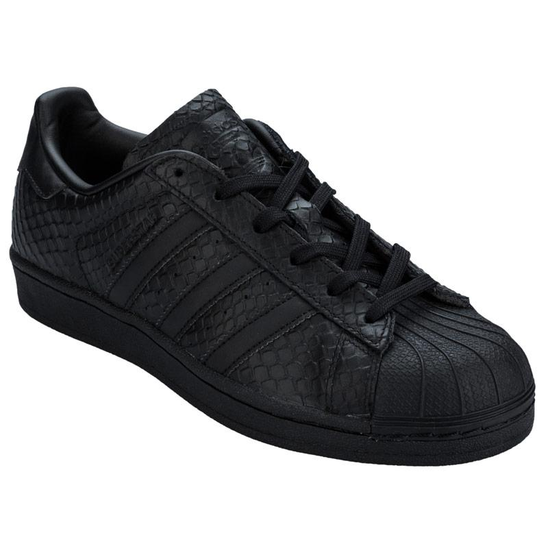 Boty Adidas Originals Womens Superstar Trainers Black, Velikost: UK5 (euro 38)