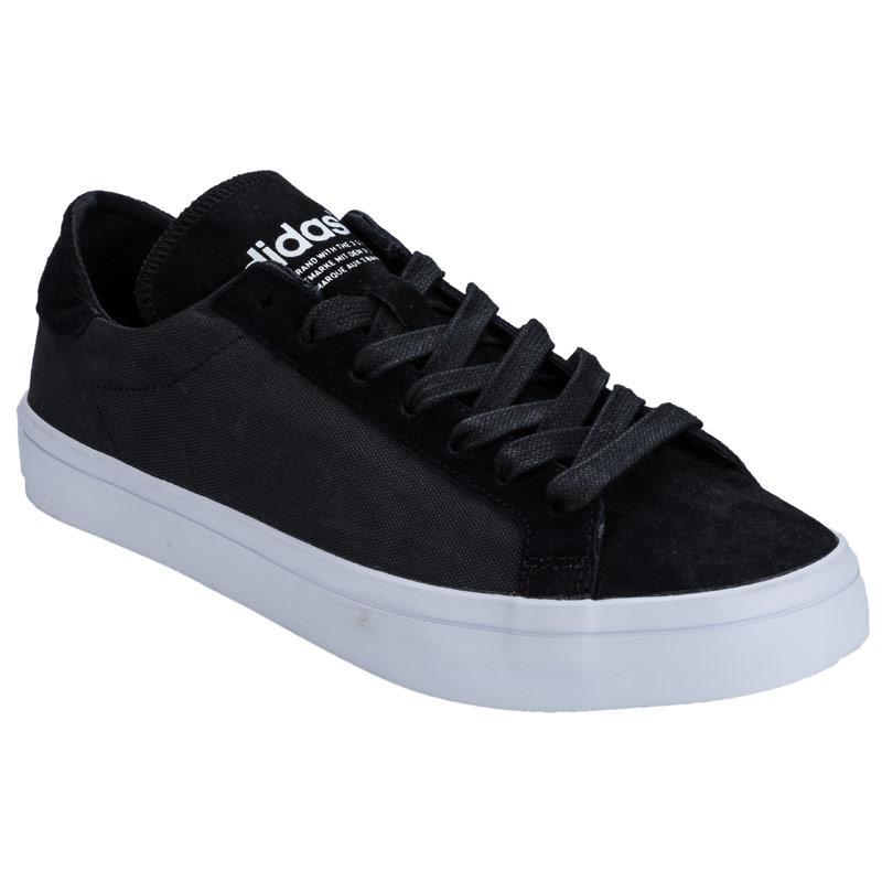 Boty Adidas Originals Womens CourtVantage Trainers Black, Velikost: UK9 (euro43)