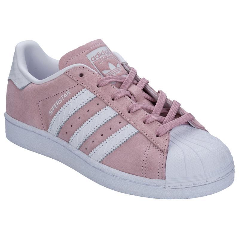 Boty Adidas Originals Womens Superstar Trainers Pink, Velikost: UK9 (euro43)