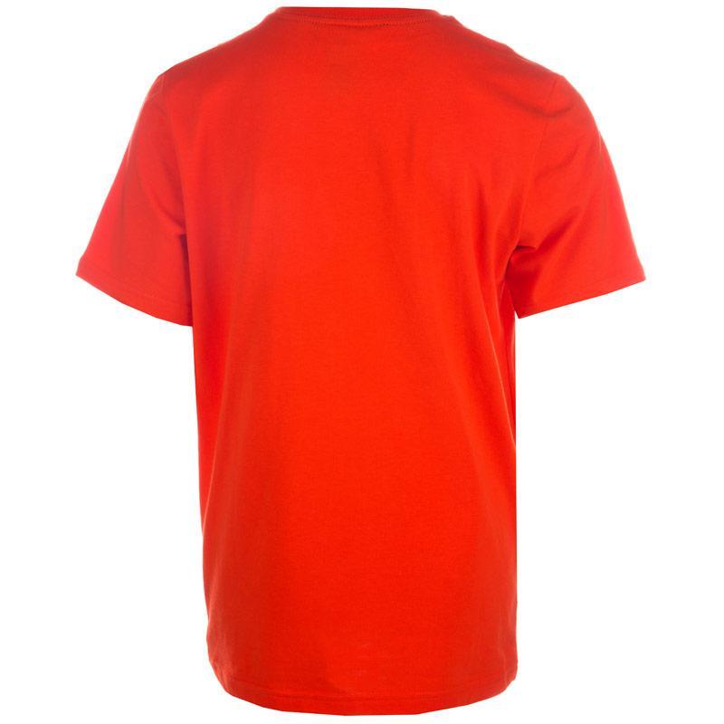 Tričko Adidas Junior Boys QQR Linear T-Shirts Orange