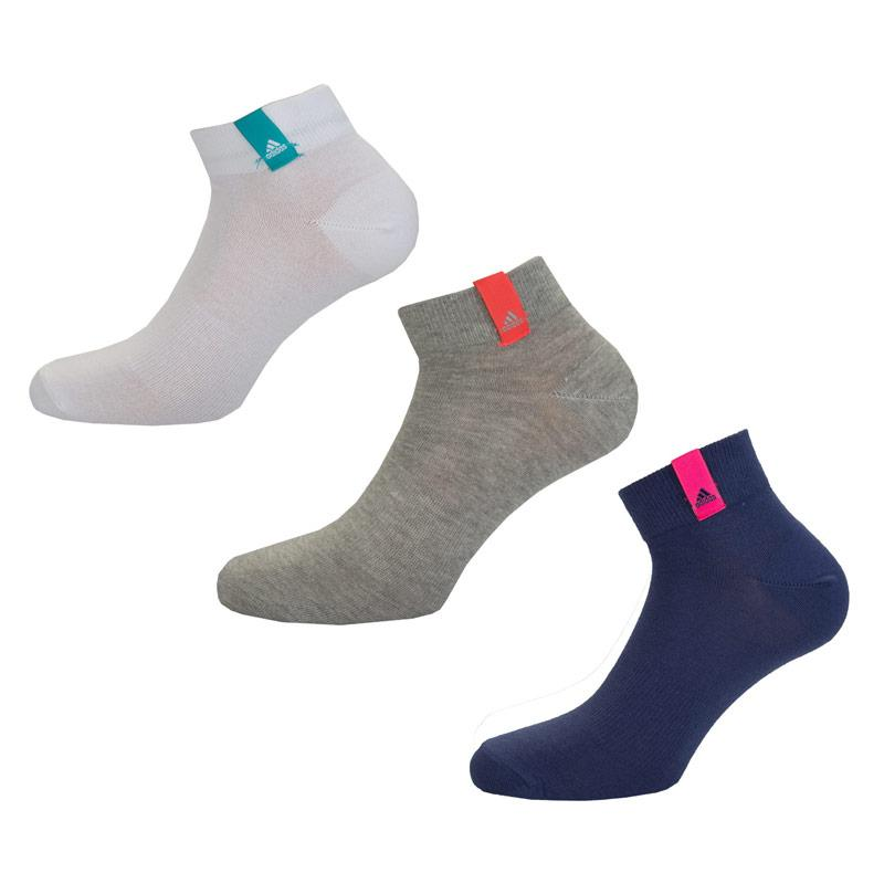 Ponožky Adidas Womens 3 Pack Performance Thin Ankle Socks Multi...