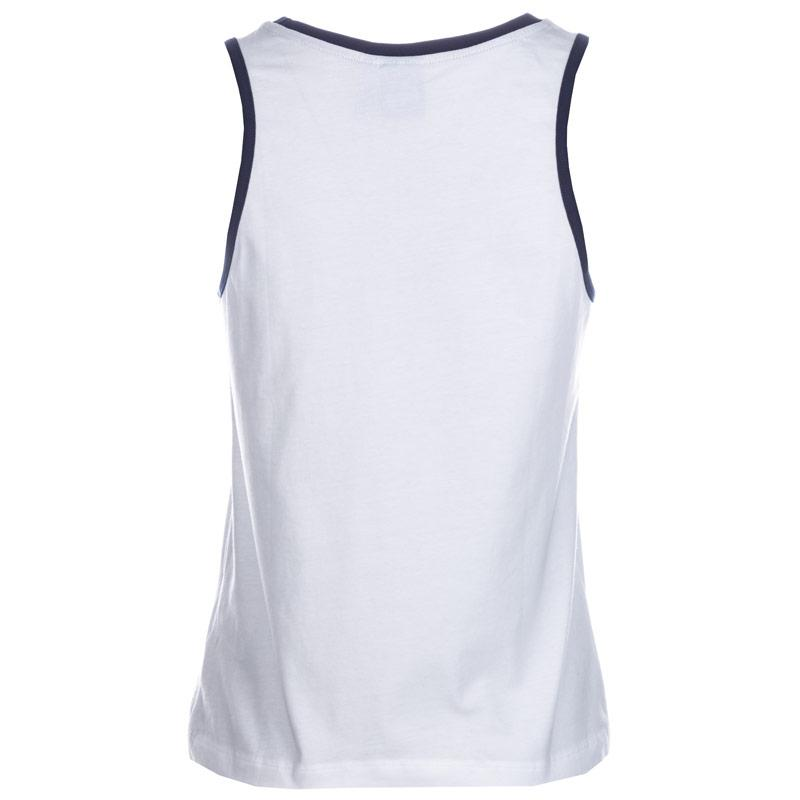 Adidas Originals Womens Blue Geology Tank Top White