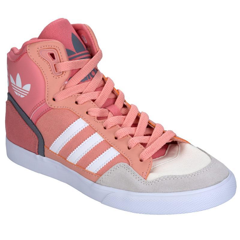Boty Adidas Originals Womens Extaball Trainers Pink, Velikost: UK5 (euro 38)
