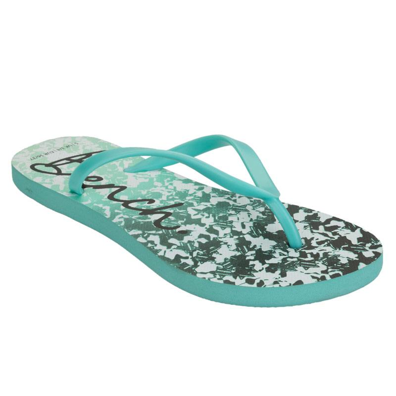 Bench Womens Flip Flops Turquoise