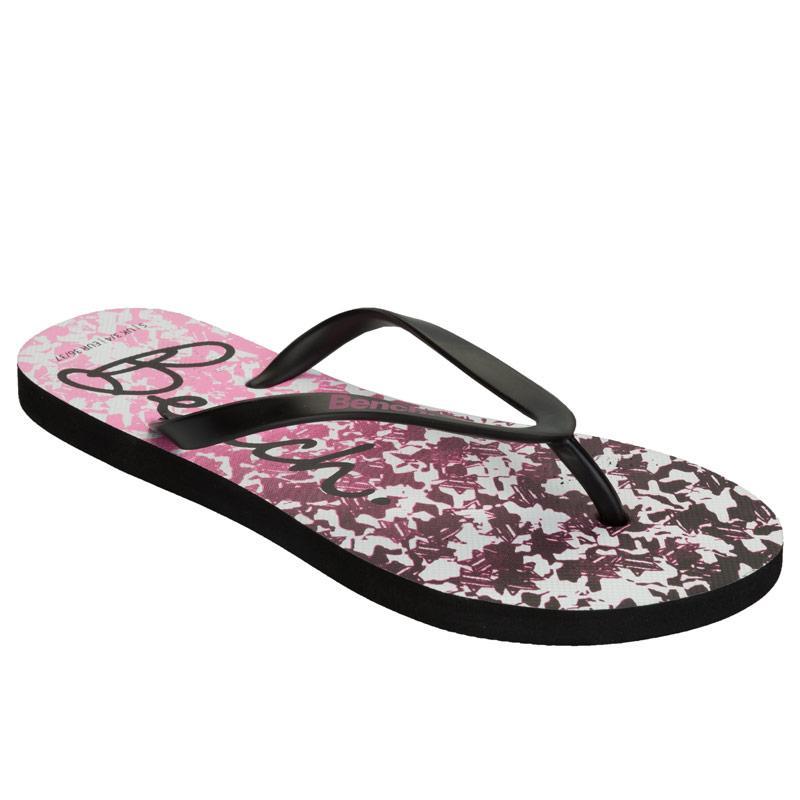 Bench Womens Flip Flops Pink