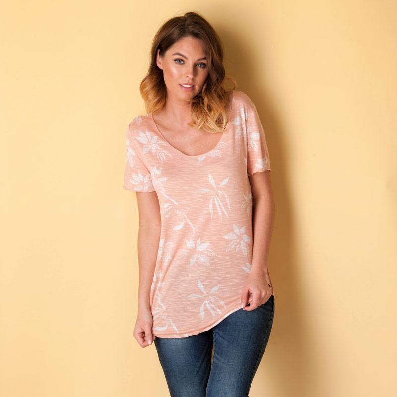 Vero Moda Womens Lua Ana Top Pink
