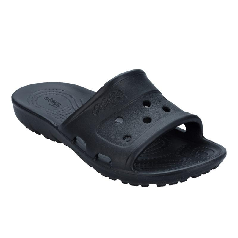 Crocs Womens Presley Slide Sandals Black
