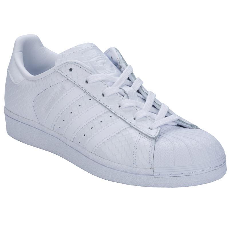 Boty Adidas Originals Womens Superstar Trainers White, Velikost: UK9 (euro43)