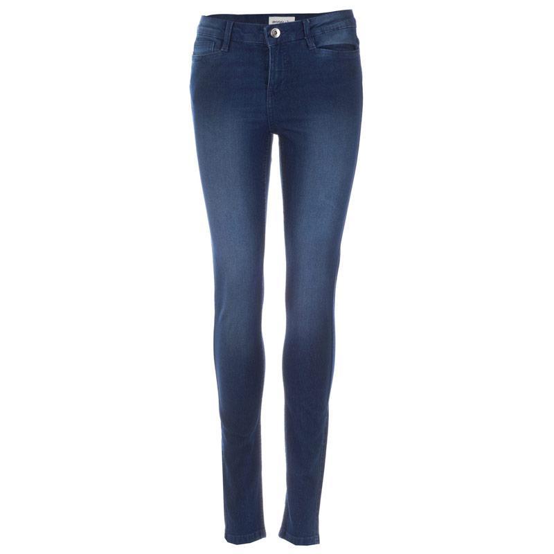Vero Moda Womens Shadow Skinny Jeans Denim