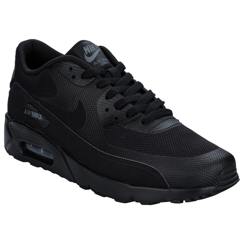 Boty Nike Mens Air Max 90 Ultra 2.0 Essential Trainers Black