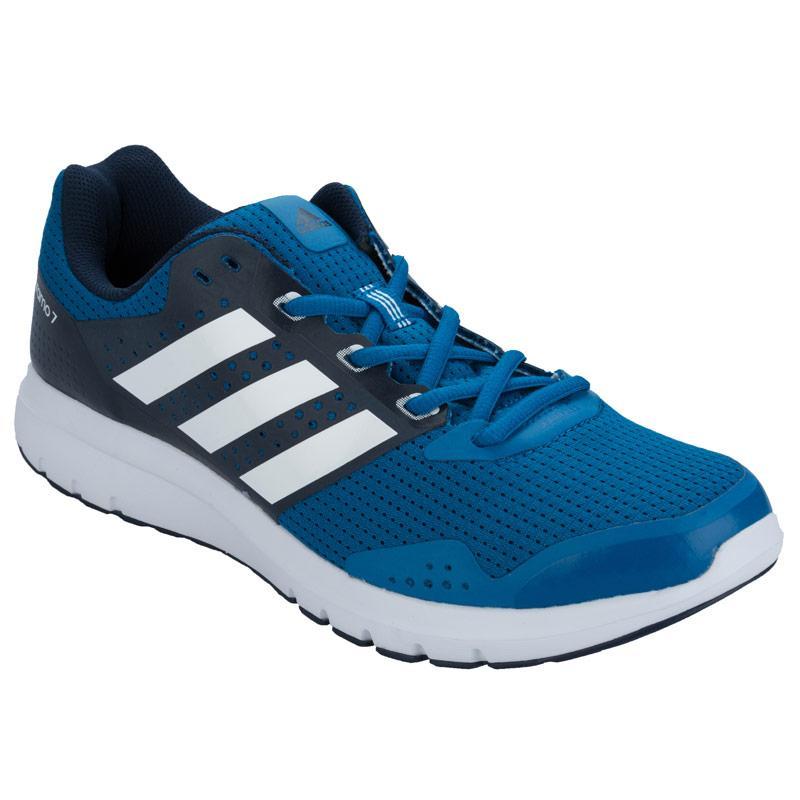 Adidas Mens Duramo 7 Running Shoes Blue, Velikost: 8 (XS)
