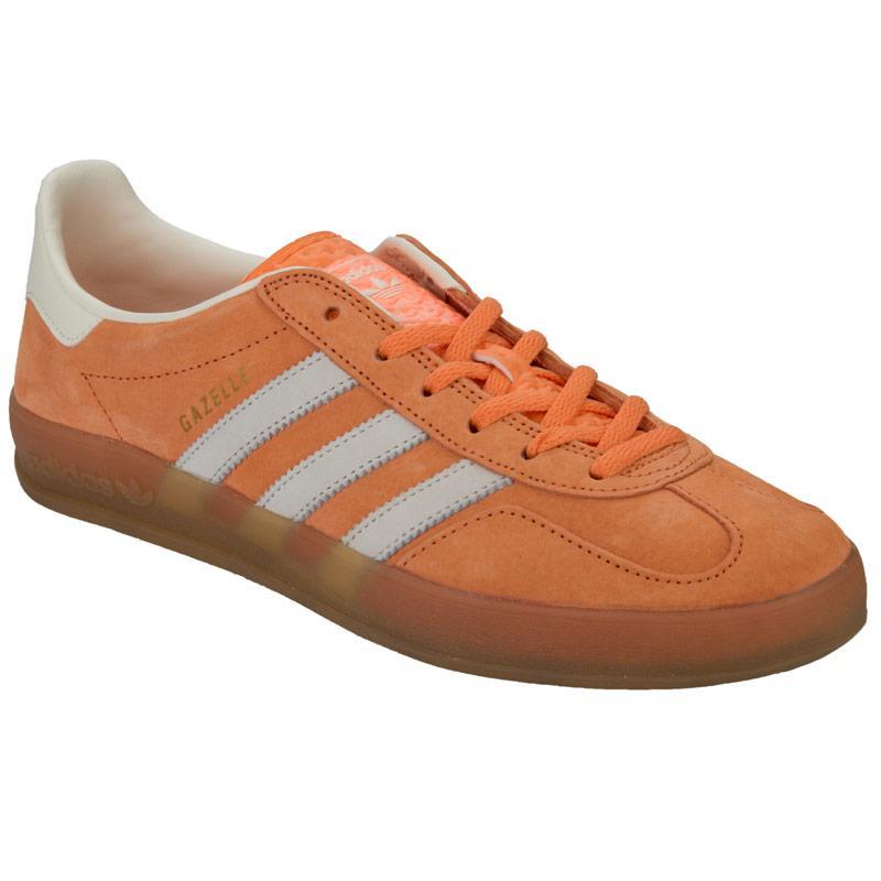 Boty Adidas Originals Mens Gazelle Indoor Trainers Orange