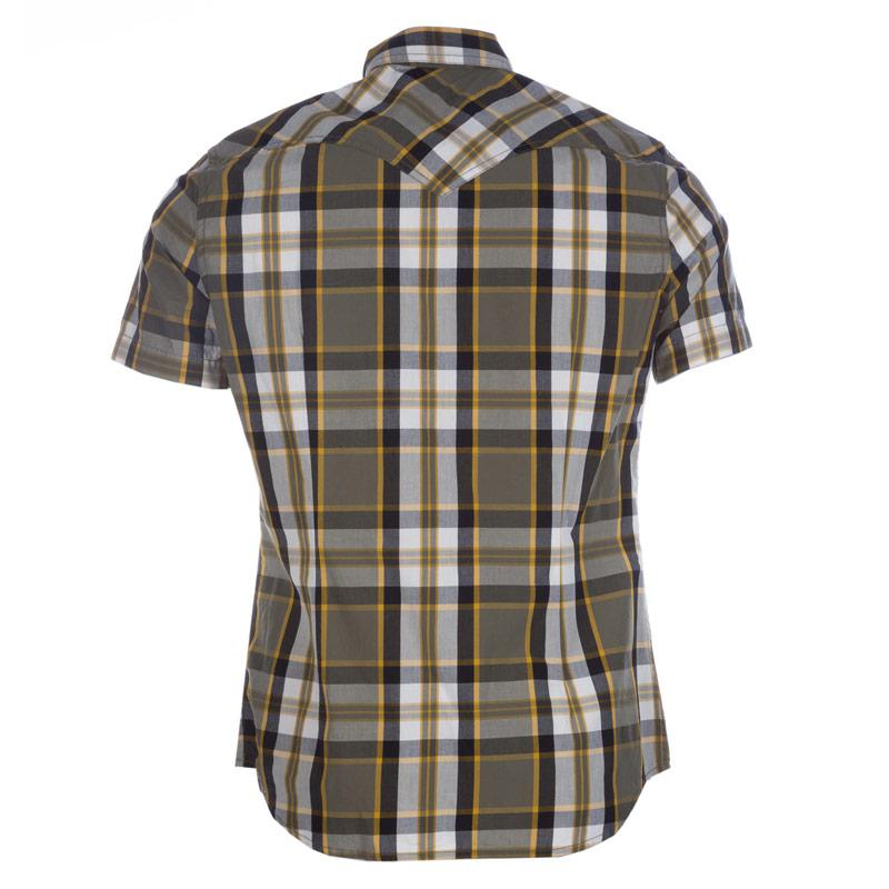 Košile Diesel Mens S-Zulphurishort Shirt Navy