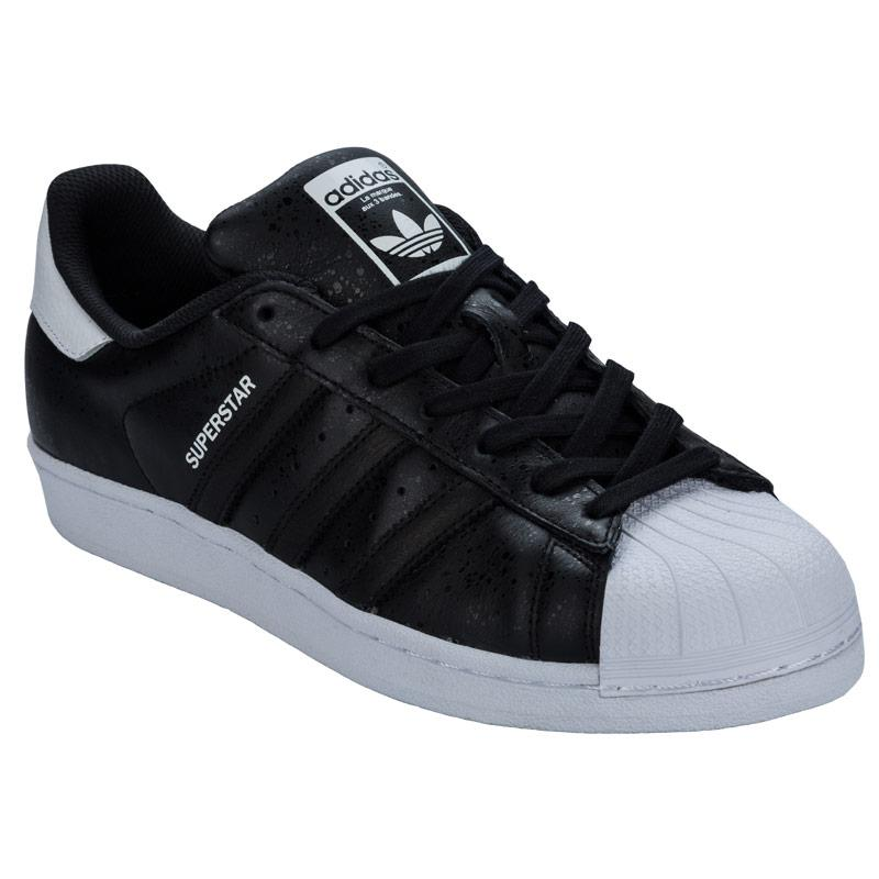 Boty Adidas Originals Mens Superstar Trainers White Black, Velikost: UK5 (euro 38)
