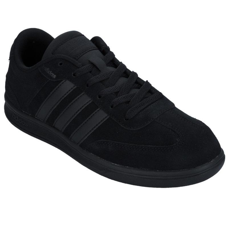 Boty Adidas Neo Mens Cross Court Trainers Black, Velikost: UK6,5 (euro 40)