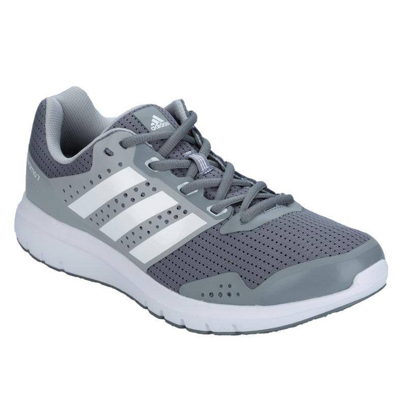 Adidas Mens Duramo 7 Running Shoes Grey, Velikost: 12 (M)